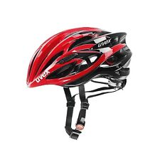 uvex cycling helmet race 1 red black size 51-55