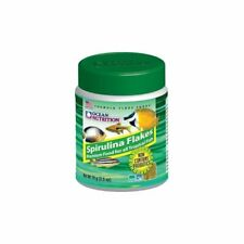 Ocean Nutrition Spirulina Flakes 34g for freshwater and marine fish