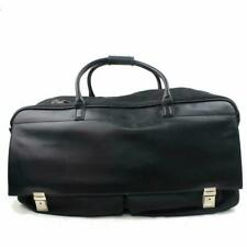 c069a979ca2a62 Gucci Duffle Rolling Luggage Black Coated Canvas Weekend/Travel Bag 870594