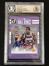 2016-17 Donruss Hall Kings Magic Johnson Autograph BGS/Beckett Authentic Lakers
