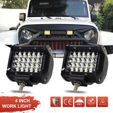2X 72W LED Arbeitsscheinwerfer Weiß Offroad 12V 24V Scheinwerfer für Jeep SUV