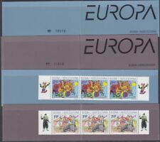 Europa Cept 2002 Bosnia/Herz. Mostar 2v 2 booklets ** mnh (A1367)
