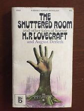 The Shuttered Room and Other Tales of Terror by H.P. Lovecraft PB 1st Beagle