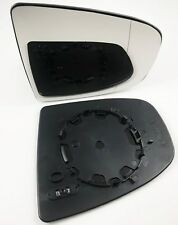 BMW X5 E70 2007-2013 DRIVER SIDE R/H/S HEATED DOOR WING MIRROR GLASS ASPHERIC