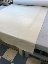 Cream 4 way stretch heavy duty vinyl 32 oz Marine/Automotive grade