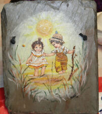 Children Playing #1, Original Painting by Maryl Lehman, Local Artist- Ohio