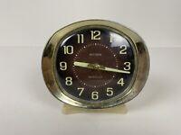 "Vintage Big Ben Alarm Clock Wind Up 5"" Tall Westclock USA Made Working"