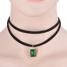 New  Women Jewelry Unique Chain Crystal Pendant Statement Bib Collar Necklace