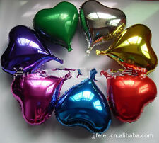 10p 5inch Heart Helium Foil balloon birthday party wedding Christmas decoration
