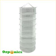 Hydroponics Dry Net Rack 60cm 8 Tiers for Indoor Grow Tent