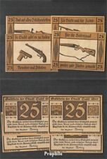 Deutsches Reich Notgeld: 1303.1 Vier Notgeldscheine der Stadt Suhl bankfrisch 19