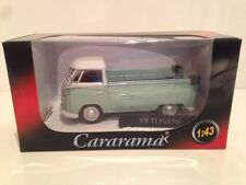 VW T1 Pick Up Light Green & White Cararama 13400 - 1:43 New