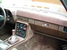 Armaturenbrett-Cover braun/ brown  Lederstruktur  Porsche 924/924 S/944 I - 84