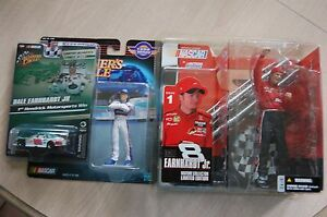 Dale Earnhardt Jr 1999 SLU Rookie+03 Mcfarlane figure+08 WC AMP Chase car 1/3469
