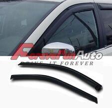 FOR 96-07 CARAVAN/TOWN&COUNTRY SMOKE WINDOW VISOR SHADE/VENT WIND/RAIN DEFLECTOR