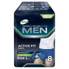 2 x Tena Men Active Fit Plus Size Large Bladder Weakness Pants