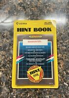 Sierra Manhunter Hint Book NEW SEALED!! NOS 1989 IBM Tandy MS-DOS Unpunched!!