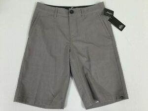 Quiksilver Boys Neolithic Amphibians Boardshort Surf New Sz 26 Youth Steeple Gry