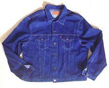 Vtg 80s LEVIS Men's Denim Trucker 70370 Type 3 Jacket Size 48 FRANCE Mint