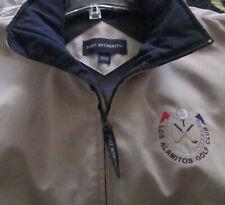 Men'S Port Authority Golf Rain Windbreaker Jacket Los Alamitos Golf Club Logo L