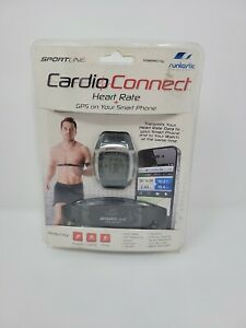 SPORTLINE CARDIO CONNECT HEART RATE + GPS, FREE SHIPPING New