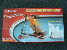 New Razor Powerwing Caster Scooter 3 Wheel Design Ripstik Technology Drifting