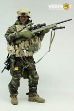 Veryhot 1/6 Scale Military Action Figure Toy Sniper in Iraq Body & Head included