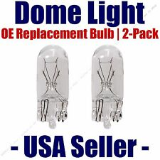 Dome Light Bulb 2-Pack OE Replacement - Fits Listed Honda Vehicles - 2825