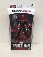 Marvel Legends Gamerverse Spider-Armor Mk Iii Spider-Man Figure Demogoblin Baf