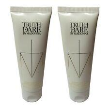 Madonna Truth or Dare Womens Perfumed Body Lotion 75ml tube x2