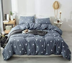 100% Cotton 4 Piece Queen Size Bed Sheet Set