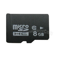 8GB 8G MicroSD Micro SD Memory Card TF Flash SDHC Class 10 C10 For Cell Phone
