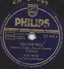 Orchestra Kurt ways: September SONG + Tea for Two