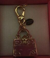 NIB Juicy Couture Limited Edition Pink Gold Daydreamer Handbag Charm Pendant