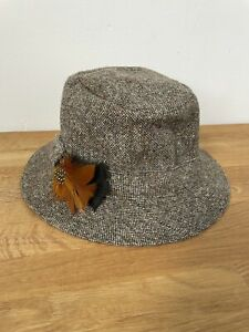 Orvis Tweed Fisherman Hat Pure New Wool Size Large