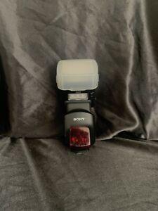 sony hvl-F58am external flash