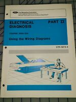 1973 Ford Electrical Diagnosis Manual Training