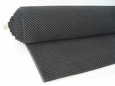 """Perforated Neoprene Sheet (AirFlo® Rubber Sheet 1/2"""" thick) Size 36""""x 48""""  Black"""