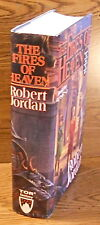 "Robert Jordan.  THE FIRES OF HEAVEN.  Tor, 1993.  1st HC/DJ.  ""Wheel of Time"" #5"