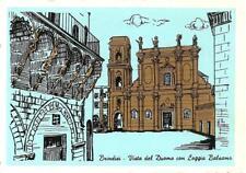 BRINDISI  -  Vista del Duomo con Loggia Balsamo
