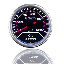 "CAR Vehicle 2"" 52mm OIL PRESSURE PRESS METER Pointer GAUGE AU"