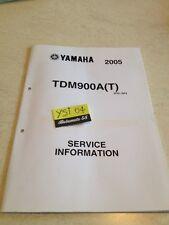 Yamaha TDM900A 2005 TDM 900 A T  service information technique technical data