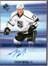 TYLER TOFFOLI 2015-16 SP Authentic Sign of the Times AUTO #SOTTTT Kings UD *