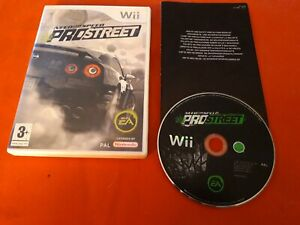 Nfs Need For Speed Prostreet Do Nintendo Wii Pal FR Boxed