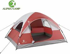 ALPHA CAMP 3 Person Camping Dome Tent with Carry Bag for Outdoor Camping/Hiking