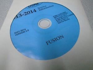 2013 Ford Fusion Servicio Tienda Reparación Información Taller Manual CD Nuevo