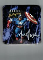 Marvel Masterpieces 1992 Joe Jusko Signed Collectors Tin NO CARDS JUST THE TIN