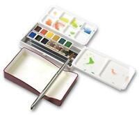 kb04 Holbein Watercolour Set : Palm Box : 12 Half Pans