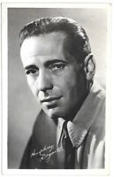 Real Photo Postcard of a Portrait of Humphrey Bogart~103649