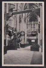 188T  AK  Ansichtskarte Freiberg in Sachsen  Dom  Mittelschiff & Silbermannorgel